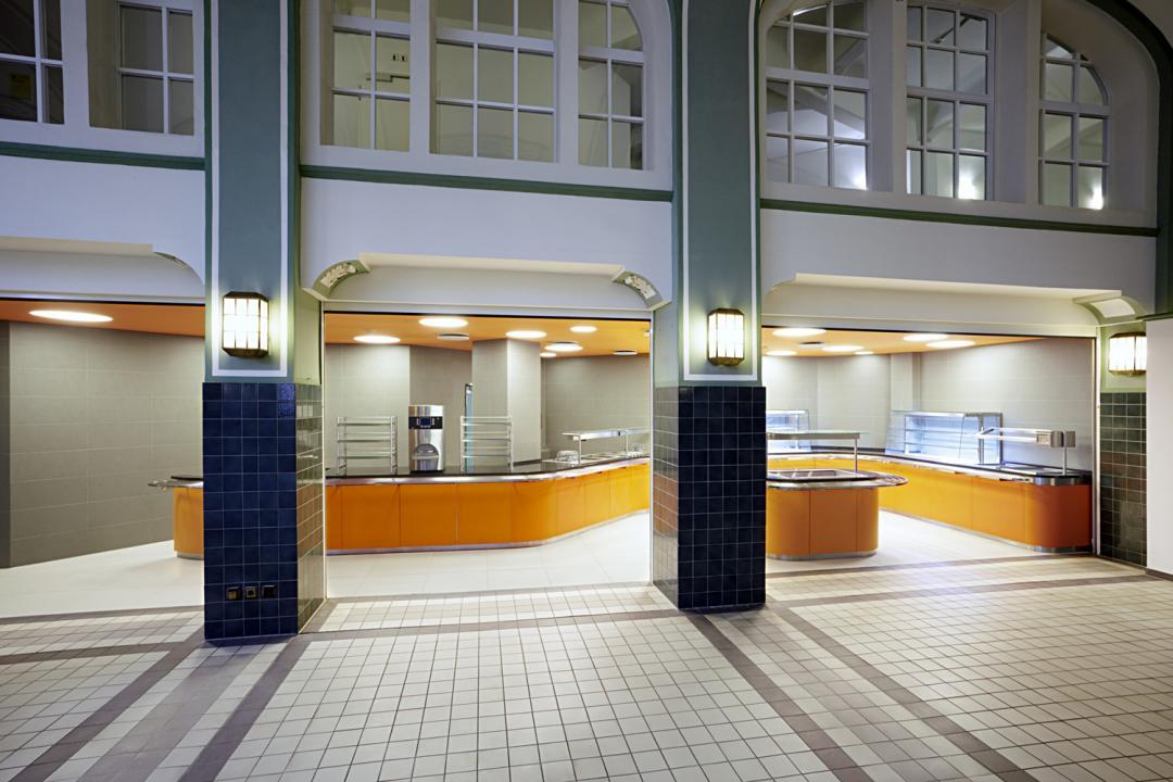 Küche im Finanzamt Leipzig